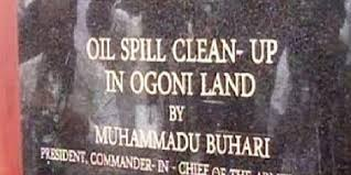 Image result for ogoni clean up