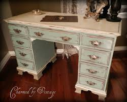 shabby chic office furniture. paris french cottage shabby chic desk in annie sloan versailles and old white paint office furniture n