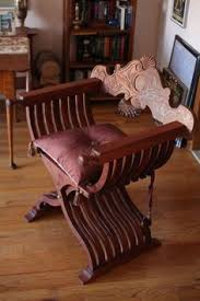 custom made savonarola chair aka x chair scissor chair dante chair meval furniturevine furnitureoutdoor dining