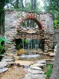Terrace and Garden: Amazing Backyard Waterfall Ideas - Waterfall Ideas