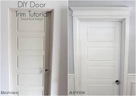 Doorway Trim Molding Diy Door Trim Tutorial Dream Book Design