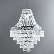 home interior modest crystal lamp shades colours carbucca clear effect beaded spiral light shade d
