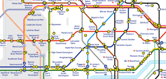 Time Map Watch Where Your Tube Is In Real Time On This Incredible Map