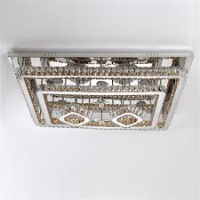 stepless adjustment led ceiling lamp hollow square light 220v