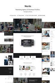 Business Portfolio Template Website Template 73437 Agency Marketing Business Custom