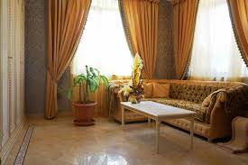 Orange And Brown Living Room Decor Orange Curtains Living Room Decor Rodanluo
