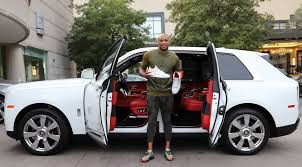 Nba Player Has Custom Air Jordans Made To Match His Rolls Royce