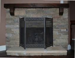 Home Decorators Collection Highland 40 In Faux Stone Mantel Faux Stone Fireplace Mantel