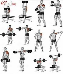 best shoulder fitness workouts exercises healthy body train