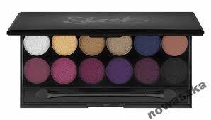 sleek makeup vine romance paleta cieni