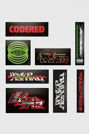 <b>Набор наклеек Codered</b> Hyperboloid   Graffitimarket.ru