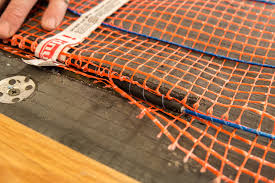 stickymat radiant floor heating electric matting system