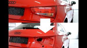 Audi Rear Light Bulb How To Change The Rear Bulb On A Audi A1