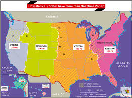How Many Us States Have More Than One Time Zone Answers