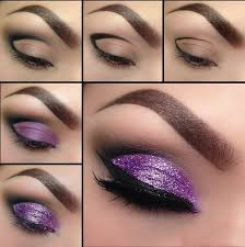 basic rules for the use of glitter makeup