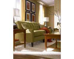 Thomasville Living Room Furniture Highlife Biscuit Back Sofa Living Room Furniture Thomasville