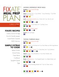fixate meal plan menu 1500 1799 calories