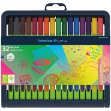 "<b>Ручка линер Schneider</b> 191091 ""<b>LINE</b>-<b>UP</b>"" набор 32 цвета, 0,4мм ..."