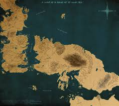 a map of a song of ice and fire version  by scrollsofaryavart on