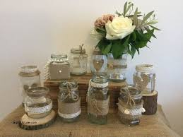 Decorating Jelly Jars Wedding Decorations Luxury Wedding Table Decorations Jam Jars 79