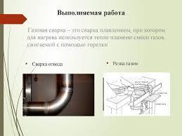Сварщик Отчет о производственной практике Сормовский   Выполняемая работа