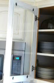 clips on glass cabinet putting in doors installing cupboard door