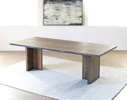 alder wood plank dining table furniture durability