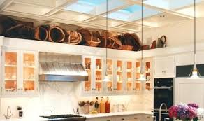 Above Kitchen Cabinets Ideas Simple Design