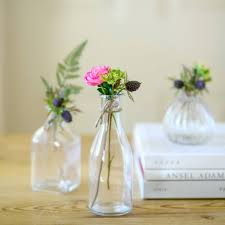 retro glass bud vases various options