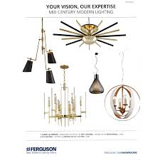 Ferguson Bath Kitchen Light Crystorama Luna 6 Light Chandelier White Gold Candelabra Inc