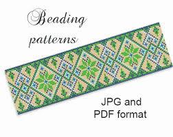 Bead Loom Bracelet Patterns Extraordinary Bead Loom Patterns Seed Bead Patterns Bead Bracelet Patterns Etsy