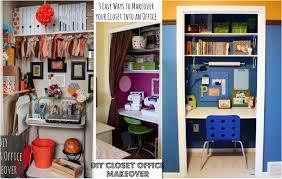 diy closet office. Contemporary-office : Orange You Glad I Have An Office DIY Closet ~ Diy