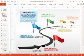 Timeline Slides In Powerpoint Animated Custom Timeline Template For Powerpoint
