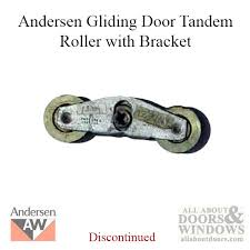 andersen window perma shield gliding patio door tandem roller assembly with bracket old style