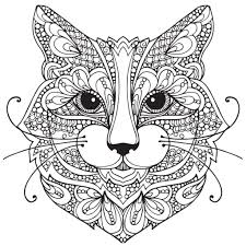Color by number printables are so much fun! Cat Coloring Pages Coloring Rocks