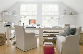dual desk home office. marvelous dual desk home office for two is filled with side by white desks, t