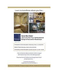 Feinmann Design Build Free Home Remodeling Design Workshops In Lexington