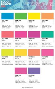 Fluorescent Ink The Definitive Apparel Designers Guide