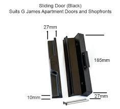 sliding doors lock aluminium sliding door locks bunnings