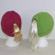 Ponytail Hat Crochet Pattern Interesting Knit Ponytail Hat Patterns