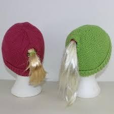 Ponytail Hat Crochet Pattern Interesting Knit Ponytail Hat Patterns