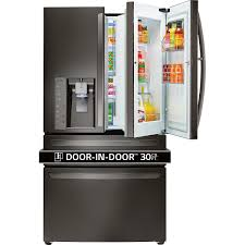 French Door lg 30 french door refrigerator pictures : LG 30CuFt 4-Door French Door Refrigerator with Customchill Drawer ...