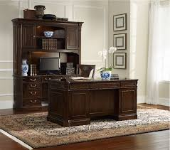Stylish Home Office Computer Desk With Hutch Traditional Home