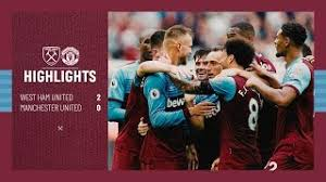 David de gea, sergio romero, lee grant. Extended Highlights West Ham United 2 0 Manchester United Youtube