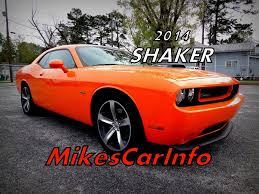 2014 DODGE CHALLENGER R/T SHAKER! HEMI - YouTube