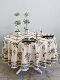 cau ti french country farmhouse round tabcloth tablecloths french country tablecloth laundry blackbird tabletop tablecloths