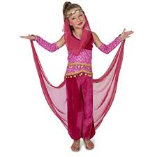 Pink Genie Child Costume L