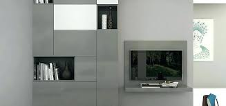 wall mounted tv cabinet unit modern cabinets hung sliding doors