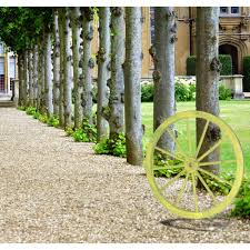 decorative antique cottage green wagon garden wheel  on outdoor wall art home depot with gardenised 31 in x 1 4 in decorative antique cottage green wagon