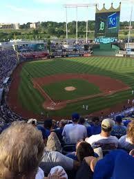 Kauffman Stadium Row Chart Kauffman Stadium Section 423 Home Of Kansas City Royals